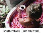 overhead shot of spectacular...   Shutterstock . vector #1055026901