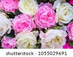 bunch of flowers | Shutterstock . vector #1055029691