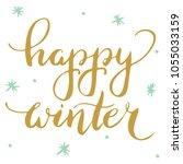 hand lettering . background...   Shutterstock .eps vector #1055033159