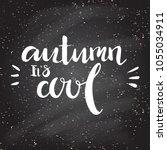 hand lettering . background...   Shutterstock .eps vector #1055034911