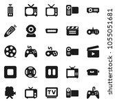 flat vector icon set   cinema...   Shutterstock .eps vector #1055051681