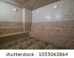 traditional turkish bathroom... | Shutterstock . vector #1055063864