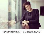portrait of successful...   Shutterstock . vector #1055065649