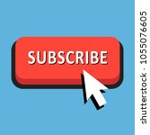 red  flat subscribe button...