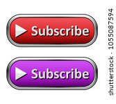 metallic subscribe button with...