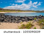 gorgeous view of galapagos... | Shutterstock . vector #1055090039