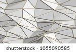 abstract 3d rendering of... | Shutterstock . vector #1055090585