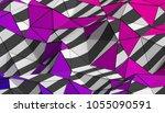 abstract 3d rendering of...   Shutterstock . vector #1055090591
