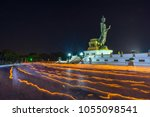 makha bucha day in thailand  ... | Shutterstock . vector #1055098541