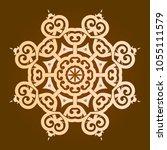 backgorund f round patterns | Shutterstock .eps vector #1055111579