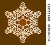 backgorund f round patterns | Shutterstock .eps vector #1055111585