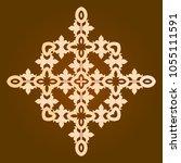 backgorund f round patterns | Shutterstock .eps vector #1055111591