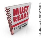 must read book essential...   Shutterstock . vector #1055129891