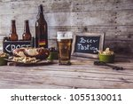 american craft beer | Shutterstock . vector #1055130011