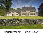 Old New England Colonial Home...