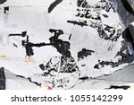 abstract urban rugged grungy... | Shutterstock . vector #1055142299