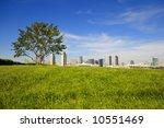san diego downtown skyline | Shutterstock . vector #10551469