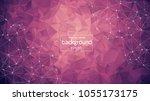 abstract purple light geometric ...   Shutterstock .eps vector #1055173175