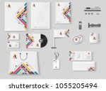 corporate identity.... | Shutterstock .eps vector #1055205494