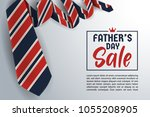father's day greeting card... | Shutterstock .eps vector #1055208905