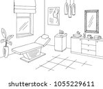 cosmetology office clinic... | Shutterstock .eps vector #1055229611