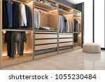 3d rendering modern... | Shutterstock . vector #1055230484