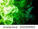 dense multicolored smoke of...   Shutterstock . vector #1055235905