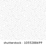 abstract geometric pattern with ... | Shutterstock .eps vector #1055288699