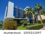 dubai dubai united arab... | Shutterstock . vector #1055311097
