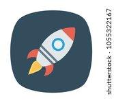 launcher rocket travel  | Shutterstock .eps vector #1055322167