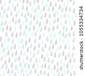 childish seamless pattern with... | Shutterstock .eps vector #1055334734