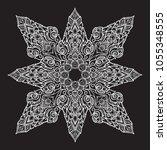 popular decorative motif in... | Shutterstock .eps vector #1055348555