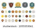 vector direction icon | Shutterstock .eps vector #1055353061