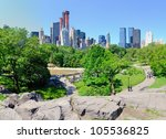 central park south in new york... | Shutterstock . vector #105536825