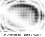 abstract halftone wave dotted... | Shutterstock .eps vector #1055376014
