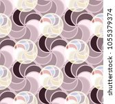 abstract color seamless pattern ... | Shutterstock . vector #1055379374
