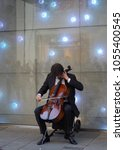 Small photo of Vienna/Austria-April 2015 : A busker in the city of classical music.