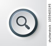 magnifying glass web icon | Shutterstock .eps vector #1055405195