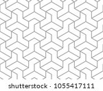 the geometric pattern with... | Shutterstock .eps vector #1055417111