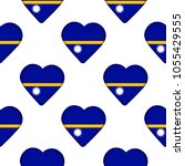 seamless pattern from the... | Shutterstock .eps vector #1055429555