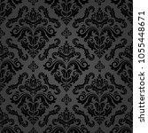 orient vector classic pattern....   Shutterstock .eps vector #1055448671