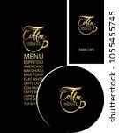 vector set of design elements... | Shutterstock .eps vector #1055455745