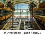 detroit  michigan  usa   march... | Shutterstock . vector #1055458829