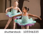 Two Adorable Children Twirling...