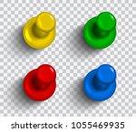 set of vector realistic...   Shutterstock .eps vector #1055469935