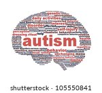 autism symbol design isolated... | Shutterstock . vector #105550841