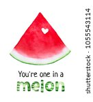 postcard design with fresh... | Shutterstock . vector #1055543114