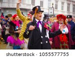 odessa  ukraine   april 1  2012 ... | Shutterstock . vector #1055577755