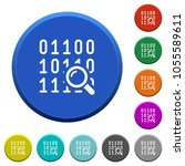 code analysis round color... | Shutterstock .eps vector #1055589611
