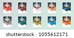 business abstract vector...   Shutterstock .eps vector #1055612171